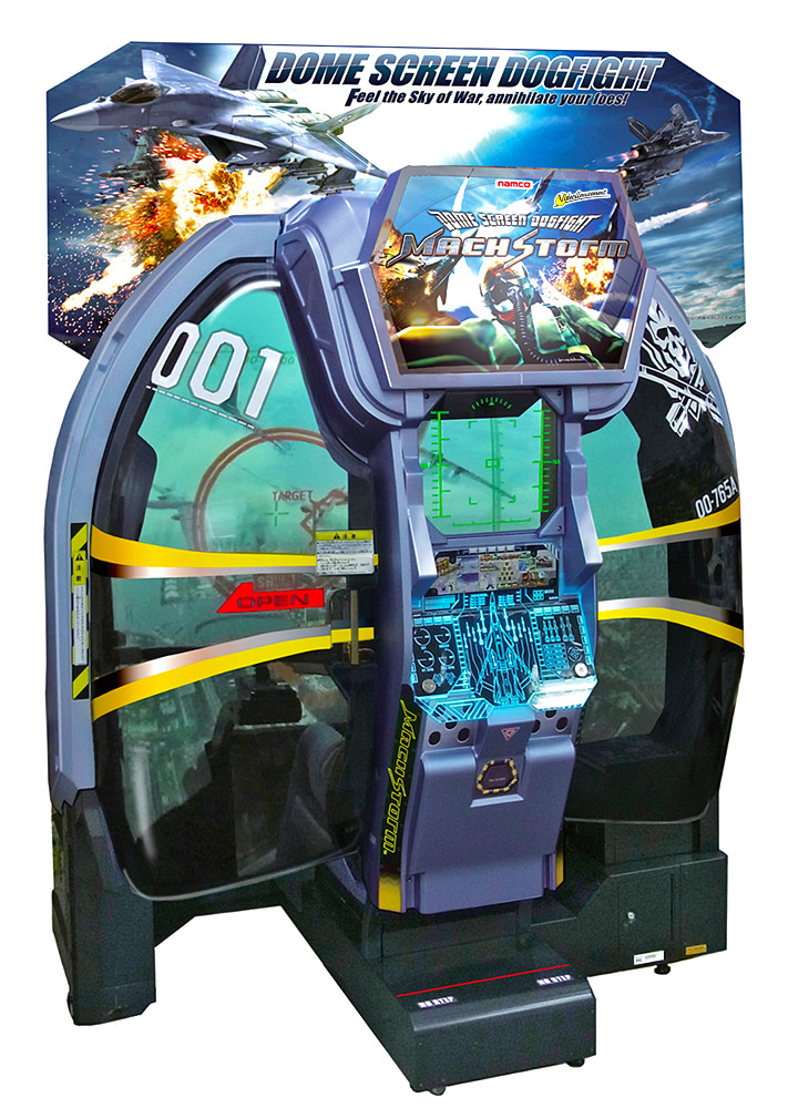 Mach Storm Combat Flight Simulator Arcade Game Rental from Video Amusement