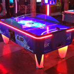 ICE Games LED Air Hockey FX game rental San Jose from Video Amusement