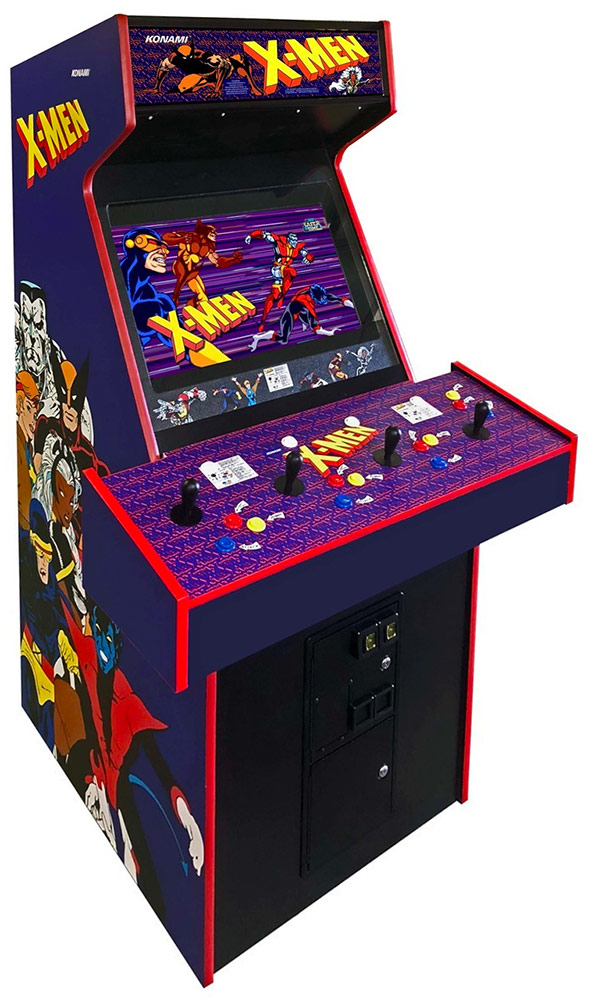 X-Men 4-player Arcade Game Rental available only from Video Amusement