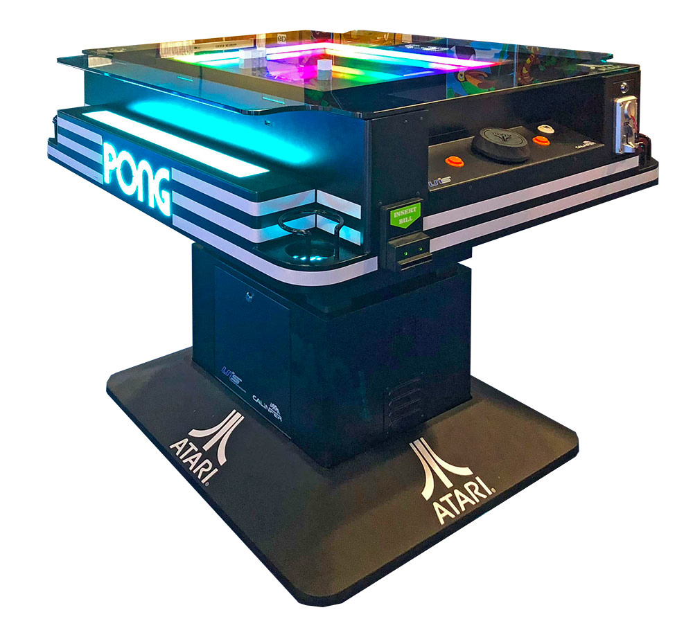 Atari LED Pong Cocktail Table for rent
