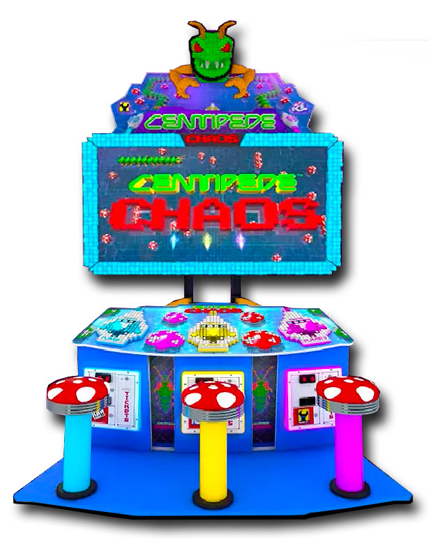 Centipede Chaos Arcade Game for rent from Video Amusement
