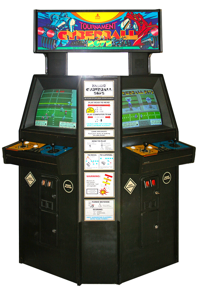Tournament Cyberball 2072 Arcade Game rental from Video Amusement