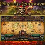 Pirates of the Caribbean Jersey Jack Pinball Rentals back glass video amusement