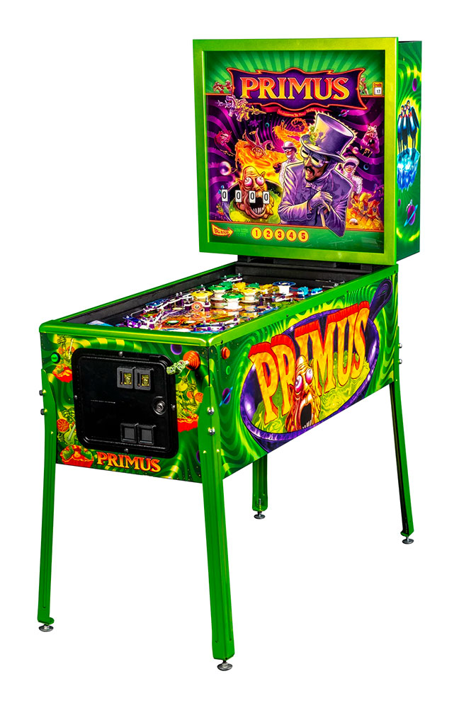 Primus Stern Pinball Machine Bay Area Rentals from Video Amusement