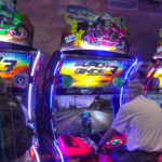 Super Bikes 3 motorcycle arcade gameSan Francisco Bay Area for rent from Video Amusement.