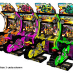 Super Bikes 3 motorcycle arcade game San Francisco Bay Area rentals from Video Amusement