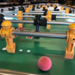 Giant LED foosball table rental San Francisco Video Amusement