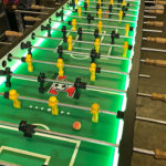 Oversized XXL 16 player foosball table for rent by Video Amusement