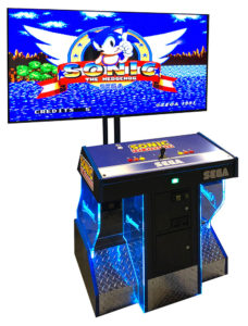 Sonic the Hedgehog classic SEGA arcade game rental San Francisco California