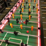 Supersized giant foosball table rental California Video Amusement