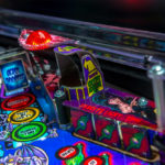 Elvira pinball machine from Stern pinball rentals San Jose Bay Area