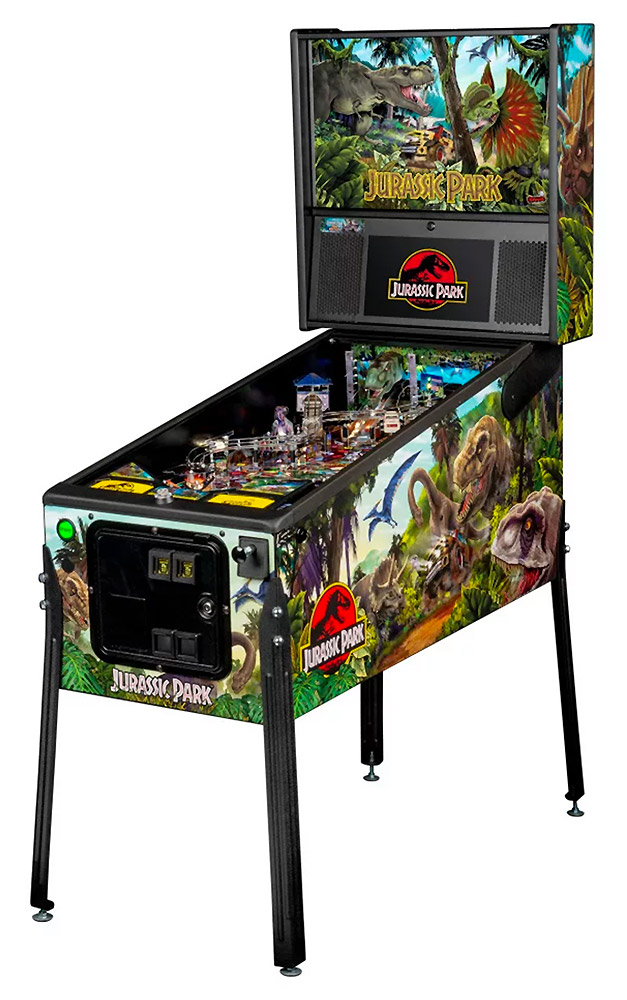 Jurassic Park Pinball Machine from Stern Pinball for rent from Video Amusement California