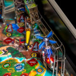 Jurassic Park from Stern Pinball available for rent San Francisco California