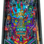 New Elvira pinball game from Stern pinball for rent Las Vegas