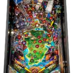 New Jurassic Park pinball game from Stern Pinball rental San Francisco Video Amusement