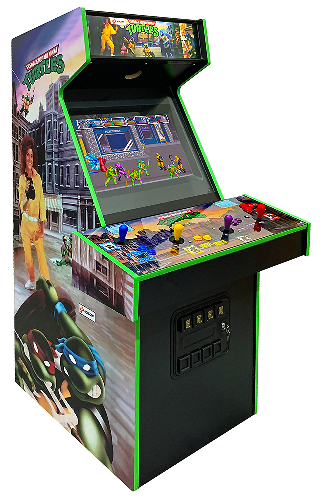 Teenage Mutant Ninja Turtles Arcade Game San Francisco rental from Video Amusement