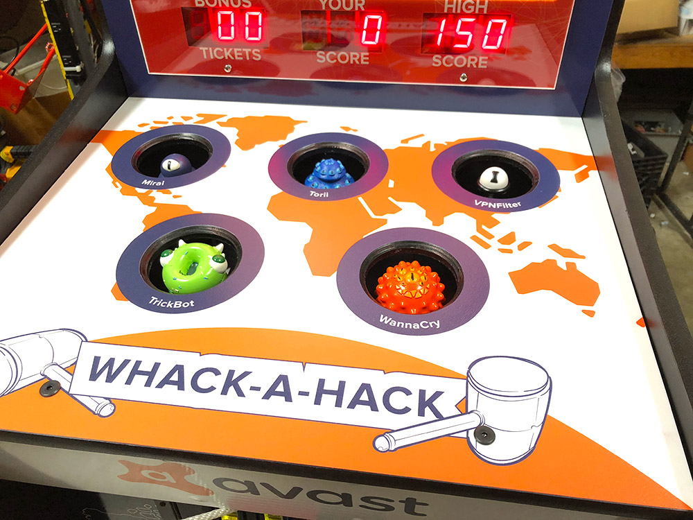 Whack-a-Hack-Avast-game-rental-with-custom-characters-San-Francisco