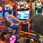 ATV Slam Dirt Racing Simulator Arcade Game available only from Video Amusement rental.