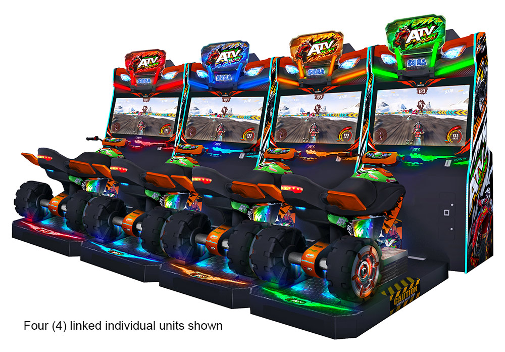 ATV Slam Sega Arcade Games linked for rental event from Video Amusement
