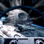 Star Wars Battle Pod Flight Simulator screen shot rental game