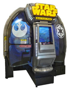 Star Wars Battle Pod Namco Arcade game rental from Video Amusement