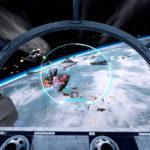 Star Wars flight simulator game screen shoot available San Jose
