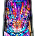 Stranger Things Pinball Machine Playfield detail rental San Francisco