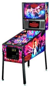 Stranger Things Pinball Machine Stern rental Video Amusement