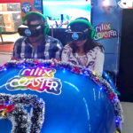 Roller Coaster virtual reality arcade game rental San Francisco