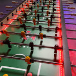 16 player LED foosball table rental California San Jose San Francisco