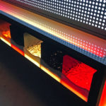 Giant Lite Brite with LED Glowing table rental