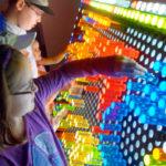 Lite Brite LED Game at rental event San Jose California