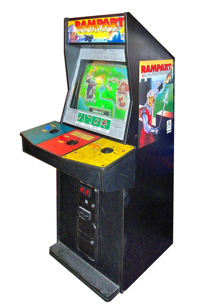 Rampart Arcade Game Stragety Theme Rental