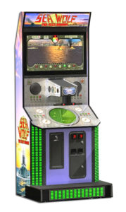 Sea Wolf The Next Mission Arcade Game for rent San Francisco