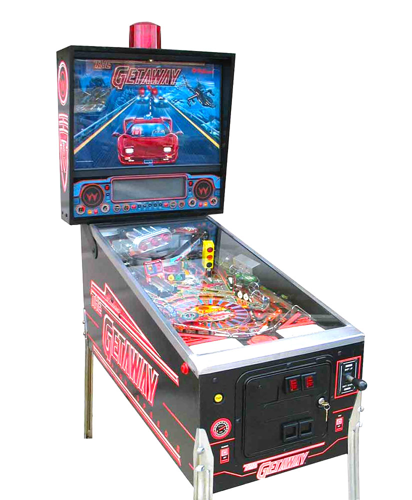 The Getaway High Speed II PinballMachine Rental San Francisco