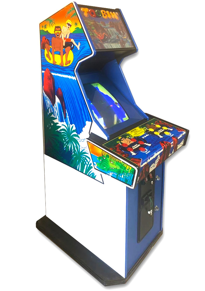 Toobin Arcade Game classic 80s retro rental San Francisco