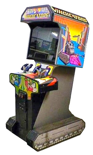 Vindicators Video Arcade Game 80s Event Party Rental San Jose
